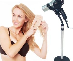 hair dryer stand